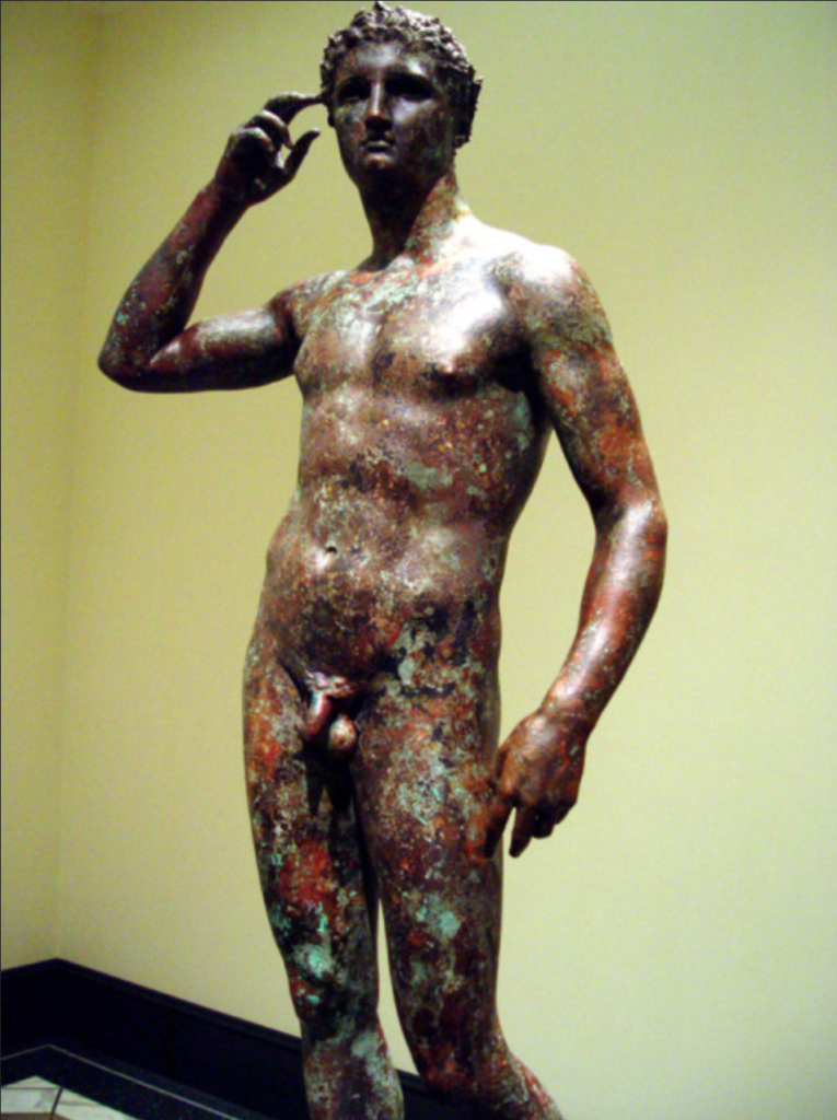 Atleta di Fano esposto al Getty Museum